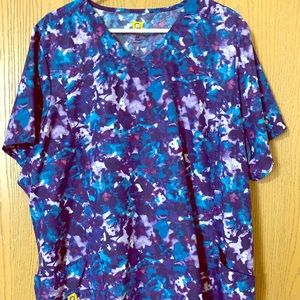 3XL Wonderwink scrub top- EUC